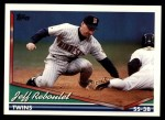 1994 Topps Traded #123 T Jeff Reboulet  Front Thumbnail