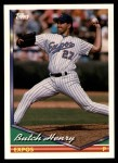 1994 Topps Traded #88 T Butch Henry  Front Thumbnail