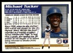 1995 Topps Traded #99 T Michael Tucker  Back Thumbnail