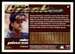 1995 Topps Traded #6 T Mike Piazza  Back Thumbnail