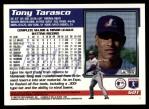 1995 Topps Traded #60 T Tony Tarasco  Back Thumbnail