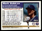 1995 Topps Traded #94 T Mark Gubicza  Back Thumbnail