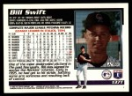 1995 Topps Traded #137 T Bill Swift  Back Thumbnail