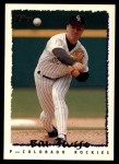 1995 Topps Traded #137 T Bill Swift  Front Thumbnail