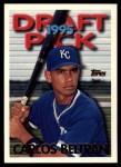 1995 Topps Traded #18 T Carlos Beltran  Front Thumbnail