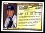 1999 Topps Traded #56 T Chris George  Back Thumbnail