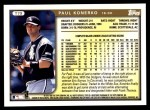 1999 Topps Traded #79 T Paul Konerko  Back Thumbnail