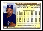 1999 Topps Traded #78 T David Wells  Back Thumbnail