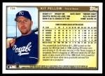 1999 Topps Traded #58 T Kit Pellow  Back Thumbnail