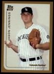 1999 Topps Traded #70 T Jason Jennings  Front Thumbnail