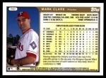 1999 Topps Traded #87 T Mark Clark  Back Thumbnail