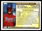 1999 Topps Traded #13 T Ruben Quevedo  Back Thumbnail