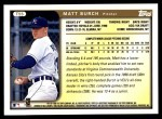 1999 Topps Traded #55 T Matt Burch  Back Thumbnail