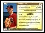 1999 Topps Traded #11 T Matt Belisle  Back Thumbnail