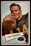 1952 Bowman Large #20  Lynn Chandnois  Front Thumbnail