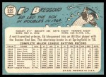 1965 Topps #525  Eddie Bressoud  Back Thumbnail