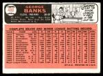 1966 Topps #488  George Banks  Back Thumbnail