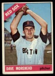 1966 Topps #135  Dave Morehead  Front Thumbnail
