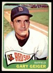1965 Topps #452  Gary Geiger  Front Thumbnail