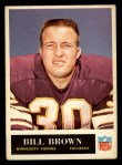 1965 Philadelphia #102  Bill Brown   Front Thumbnail
