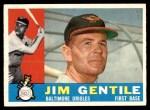 1960 Topps #448  Jim Gentile  Front Thumbnail