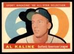 1960 Topps #561   -  Al Kaline All-Star Front Thumbnail