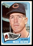 1965 Topps #185  Max Alvis  Front Thumbnail