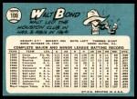 1965 Topps #109  Walt Bond  Back Thumbnail
