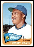 1965 Topps #370  Tommy Davis  Front Thumbnail