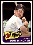 1965 Topps #108  Don Mincher  Front Thumbnail