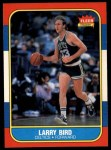 1986 Fleer #9  Larry Bird  Front Thumbnail
