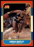 1986 Fleer #21  Adrian Dantley  Front Thumbnail