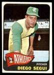 1965 Topps #197  Diego Segui  Front Thumbnail