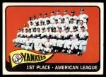 1965 Topps #513   Yankees Team Front Thumbnail