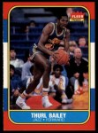1986 Fleer #6  Thurl Bailey  Front Thumbnail