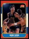 1986 Fleer #28  Mark Eaton  Front Thumbnail