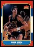 1986 Fleer #28  Mark Eaton  Front Thumbnail