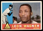 1960 Topps #383  Leon Wagner  Front Thumbnail