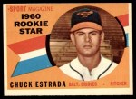 1960 Topps #126   -  Chuck Estrada Rookie Star Front Thumbnail