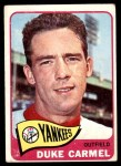1965 Topps #261  Duke Carmel  Front Thumbnail