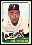 1965 Topps #23  Bob Tiefenauer  Front Thumbnail
