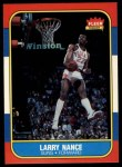 1986 Fleer #78  Larry Nance  Front Thumbnail