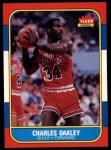 1986 Fleer #81  Charles Oakley  Front Thumbnail