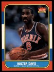 1986 Fleer #23  Walter Davis  Front Thumbnail