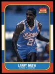 1986 Fleer #25  Larry Drew  Front Thumbnail