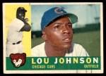 1960 Topps #476  Lou Johnson  Front Thumbnail