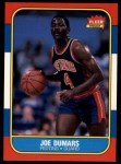 1986 Fleer #27  Joe Dumars  Front Thumbnail