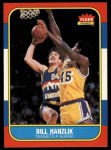 1986 Fleer #43  Bill Hanzlik  Front Thumbnail