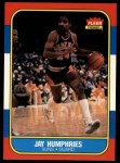 1986 Fleer #49  Jay Humphries  Front Thumbnail