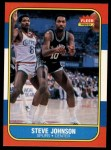 1986 Fleer #55  Steve Johnson  Front Thumbnail